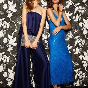 NWT, sz 4, DVF, Sequin Gown